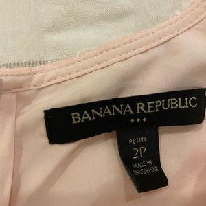 Banana Republic Tops - Banana Republic Peplum Top Pink